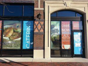 custom promotional window signs