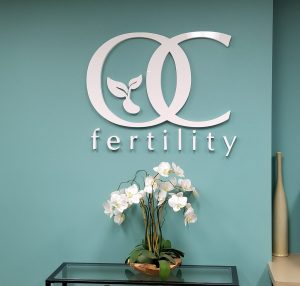 attractive indoor dimensional letter lobby logo sign